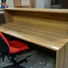 Walnut reception counter €509