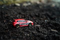 9. Subaru WRX STi (ericvilendrerphoto) Tags: subaru wrx sti impreza jdm japanese mud tuner rally crew modded hotwheels toy minature project ericvilendrerphotography dirt red
