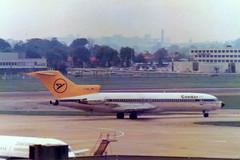 D-ABKL Boeing 727-230 cn 21114 ln 1178 Condor Heathrow 11Jul78 (kerrydavidtaylor) Tags: boeing727 boeing727200