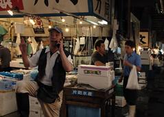 Tsukiji - Fish market (Alessandro Banducci * Ganaverre) Tags: nippon giappone japan tokyo mercato del pesce tuna tonno fish market