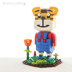 Tiger Shimajirō 巧虎 (dvdliu) Tags: lego tiger tora no shimajirō cartoon moc 巧虎 可愛巧虎島 shimajiro