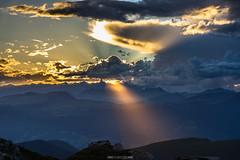 gods torch... (F!o) Tags: seceda sdtirol tirol sonne wolken clouds sky sunshine sunset sonnenuntergang sonnenstrahlen berge alpen