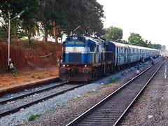 YPR - CMGR FP (B V Ashok) Tags: indianrailways ir yeshvantapurchikmagalur yprcmgr fastpassenger fp 56278 swr gbb gubbi ed erode alco wdg3a 13451 shakti sr