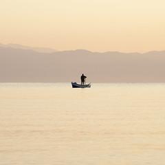 Moraitika, Corfu (W140) Tags: simplyirresistible sunrise boat people portrait photo photography canon canon400d greece corfu summer summertime beach island wugreece reasonstovisitgreece europe sea mediterranean ioniansea