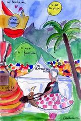 Festival Au Bonheur des Mômes - les croquis des petits croqueurs