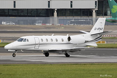 EuroJet Aviation Cessna 560XL Citation G-IPAX (birrlad) Tags: dublin dub international airport ireland aircraft aviation airplane airplanes taxi taxiway takeoff departing departure runway bizjet private passenger jet cessna citation gipax 560xl excel c56x eurojet gojet