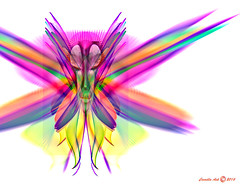 true colors shining through (Camilla's photos! Thank you for viewing ) Tags: abstract art olypmus bomom graphics digital manipulation potoshop face lines expression imagination fantasy wings white bright glass fun true norway