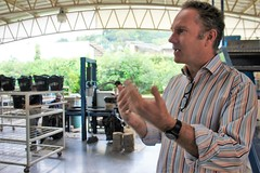 Ecofiltro Philip Wilson gives a tour - Charlie on Travel (CharlieOnTravel) Tags: ecofiltro guatemala tour sustainable antigua water filter pots eco