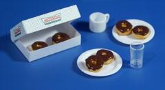 Dsc04525 (GreenWorldMiniatures) Tags: handmade 16scale playscale miniature food donuts polymerclay greenworldminiatures barbie