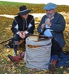 You Hum it and Ill Play It!! (MWBee) Tags: actors reenactment waltonhallgardens walton warrington cheshire flute recorder mwbee nikon d750 music