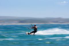 my first panning (--marcello--) Tags: panning sea sardegna kitesurf