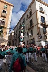 Castellers Sant Pere i Sant Pau (Carles Gual) Tags: santatecla castells pilars collacastellerasantpereisantpau