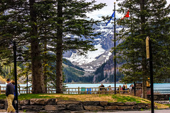 Lake Louise from Fairmont (jc.mendo) Tags: jcmendo canon 550d 1855 lago lake louise fairmont mirador banff canada alberta