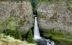 Spahats Falls (Stefan Jrgensen) Tags: britishcolumbia canada wellsgrayprovincialpark spahatsfalls spahatscreekfalls spahatscreek waterfall water drop rocks pool splash sony dslra700 a700 2013 creek falls