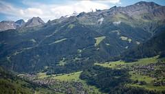 Bruson, Valais, Switzerland (Oddition) Tags: summer panorama mountain alps eye nature birds landscape switzerland village swiss altitude wideangle alpine 2012 valais bruson ultawide tamron1750mm28vc