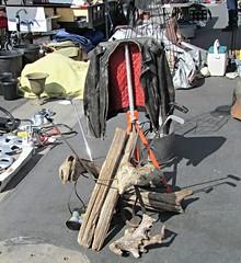Goodguys swap meet #70 (bballchico) Tags: signs cars golf forsale parts driftwood carparts leatherjacket swapmeet putter goodguyspleasanton cars4salecorral