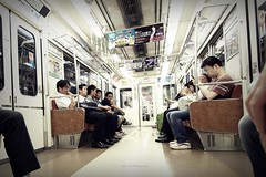 Busy metro, Osaka, Japan (Luke,Ma) Tags: road street city light station japan digital skyscraper train subway ed four cross traffic metro platform olympus m micro  zebra  ez osaka intersection prefecture kansai  umeda 43 omd thirds         m43     greatphotographers  mzd f4056  osakashi  em5   osakafu    flickraward 918mm mzuiko m918 flickraward5 flickrtravelaward  ezm918