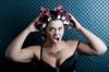 bad hair day (VoThoGrafie) Tags: portrait studio curler lockenwickler d700