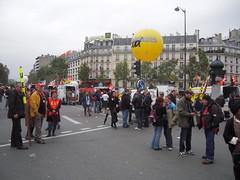 PLACE DU 18 JUIN 1940 (marsupilami92) Tags: paris france frankreich ledefrance capitale 75 manifestation sud grve syndicat solidaires 15emearrondissement sudposte
