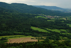 Many shades of green (annamaart) Tags: landscape tyskland burghohenzollern