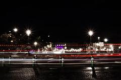 Concorde light trails (Richard Pommérat) Tags: paris color night lights worldwide concorde photowalk 2012 kelby
