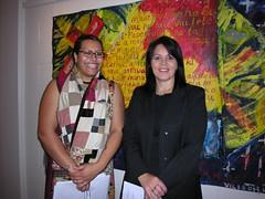 Ema Tavola & Leisa Siteine (Fresh Gallery Otara) Tags: otara southauckland pacificart freshgalleryotara