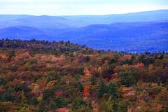 Shawangunk Mountains (segamatic) Tags: park mountain newyork fall colors leaves canon landscape eos state dusk upstate layers minnewaska shawangunk 5dmarkii canonef70200f28lisiiusm