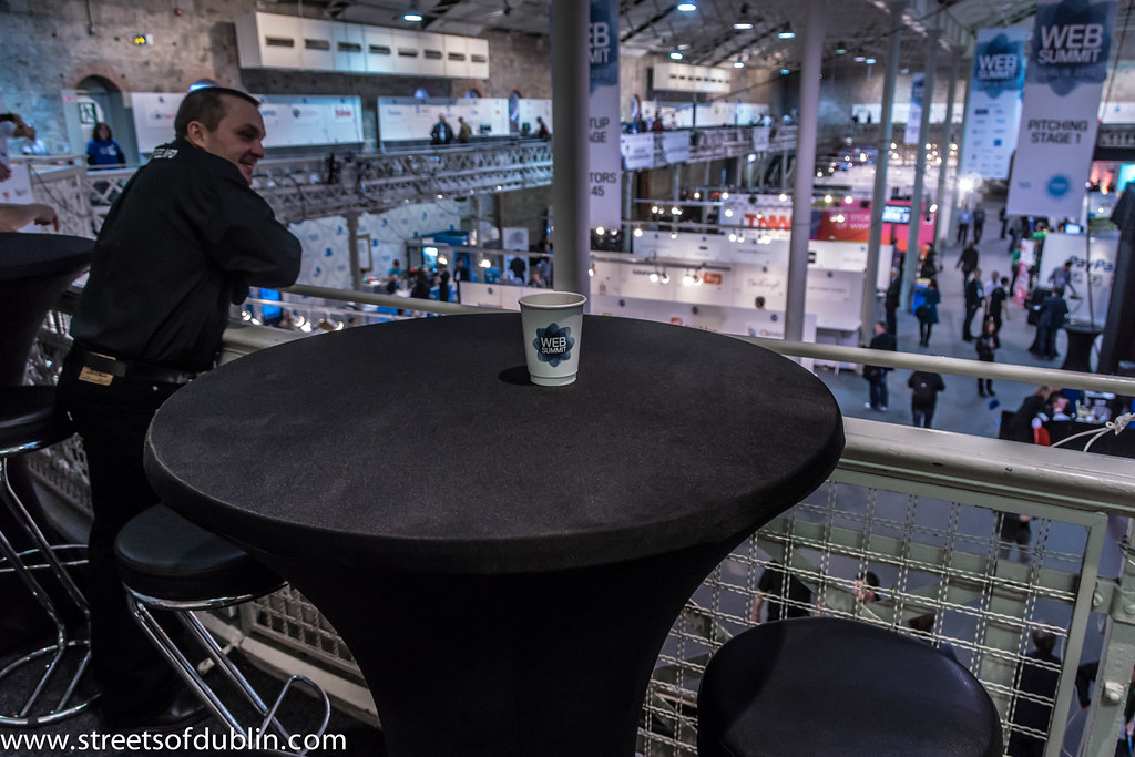 The Man Behind The Art Of Coffee At The Web Summit Dublin 2012