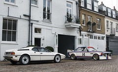 Bayerische Motoren Werke. (Alex Penfold) Tags: auto camera white london cars alex sports car sport mobile 30 canon photography eos photo cool flickr image m1 duo pair south awesome flash picture super spot exotic photograph bmw spotted hyper kensington batmobile supercar spotting csl exotica sportscar 2012 sportscars supercars combo penfold spotter hypercar 60d hypercars alexpenfold