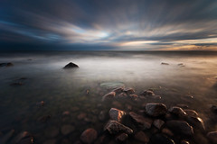 Scattered (- David Olsson -) Tags: longexposure sunset lake seascape motion nature water clouds landscape evening movement nikon rocks sundown cloudy sweden stones tripod sigma windy pebbles september le 1020mm 1020 vnern 2012 scattered dx hammar vrmland ndfilter lakescape wetrocks smoothwater smoothsky 2exposures d5000 manualblend takene scenicsnotjustlandscapes manuallyblended davidolsson hammarsydspets nd500 lightcraftworkshop