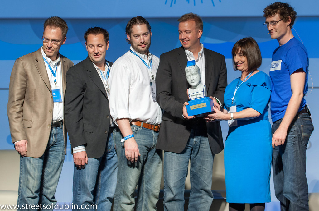 Alex Hawkinson Of SmartThings Is A Winner At The Web Summit In Dublin