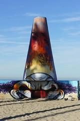 Clown Cones Venice Beach California (dog97209) Tags: california venice beach cone clown