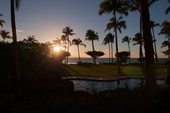 Sunset from the balcony (b0ssk) Tags: beach hawaii maui cliffjumper