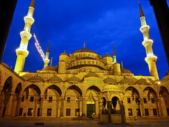 Blue Mosque  or Sultan Ahmet mosque in Istanbul, Turkey (Frans.Sellies (off for a while)) Tags: world heritage night turkey de geotagged la site cloudy trkiye istanbul mosque unescoworldheritagesite unesco worldheritagesite turquie trkei list bluemosque unescoworldheritage istambul turkije turquia sultanahmet sites worldheritage weltkulturerbe whs estambul mosque camii turchia humanidad  moskee sultanahmetcamii turkei worldheritagelist welterbe moschee kulturerbe  stambul patrimoniodelahumanidad istanboel heritagesite unescowhs   ph717 patrimoinemondial  werelderfgoed vrldsarv   heritagelist werelderfgoedlijst verdensarven       patriomonio p1380360 geo:lat=41005723402883106 geo:lon=28976348456344567