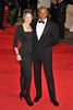 Colin Salmon and guest Royal World Premiere of Skyfall held at the Royal Albert Hall - London, England