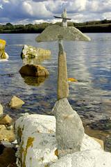 Balance (Rmi Vannier) Tags: sea mer rock stone pierre bretagne balance cairn octobre 2012 gx10 rade pointeduchteau equilibre radedebrest giuscescu logonnadaoulas tech1kon