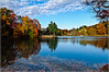 Lakeside property in Fishkill (danilew) Tags: pictures autumn trees plants usa lake ny newyork fall nature water landscape outdoors highresolution flora nikon october scenery colorful photos images foliage fishkill photographs land empirestate multicolored hudsonrivervalley 2012 d300 landscapephotography manycolors tamron1750mmf28 tamronspaf1750mmf28xrdiiildasphericalif lightroom3 nikond300 danilew wwwdanilewcom