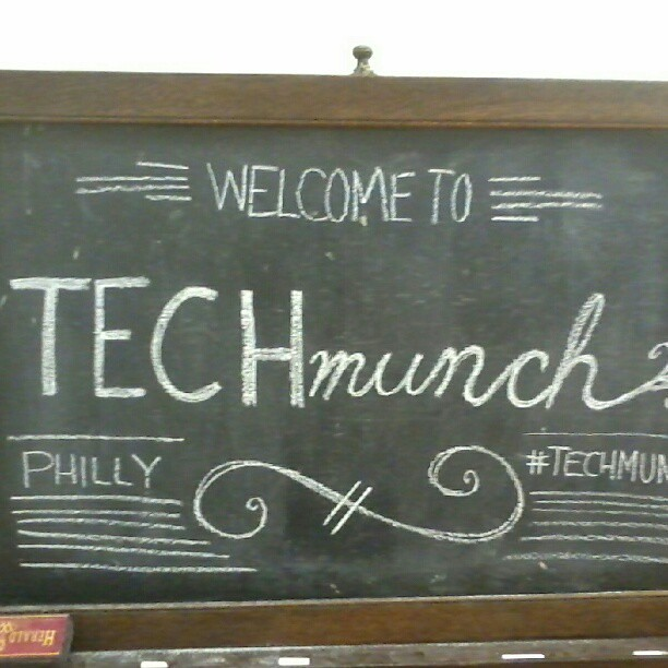 #techmunch Philadelphia was fun!