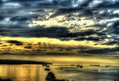 Portfolio64 (TattoodGuy Photography) Tags: city sky beautiful vancouver boats lights nikon bridges sunsets hdr