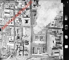 Mi mas impresionante fotografa del  11 de septiembre de 1973, son las 11,20 horas. (santiagonostalgico) Tags: santiago de la septiembre fotografia incendio 1973 moneda area allende bombardeo