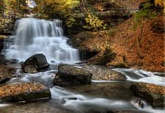 Lower Decew Falls, St. Catharines Ontario (angie_1964) Tags: longexposure autumn ontario fall leaves waterfall stcatharines lower decewfalls nikond800e
