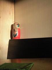 Babushka on the shelf (erix!) Tags: corner toy shelf ef babushka morningsun russiandoll matriushka russiantoy