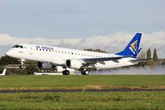 P4-KCG Air Astana E190 at Southend EGMC (AeroPics) Tags: sen embraer kzr embraer190 e190 airastana newdelivery egmc uatt pttax hiuaz p4kcg p4kch kzar1373 kzr1373