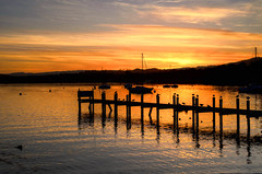 "Sunset over Windermere • <a style=""font-size:0.8em;"" href=""https://www.flickr.com/photos/21540187@N07/8145499231/"" target=""_blank"">View on Flickr</a>"