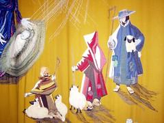 The Shepherds - Nov 2009 (DizDiz) Tags: cheshire stmaryschurch nantwich olympusc720uz