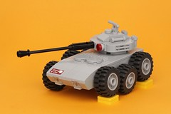 Steppenwolf (pasukaru76) Tags: lego military armored afv moc canon100mm tankdestroyer