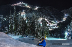 Cypress mountain (vk1962) Tags: mountain snow canada ski west night vancouver skiing bc aaron smith cupress