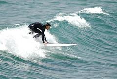 (fewfires) Tags: sea whitewater surf wave surfboard wetsuit breakingwave