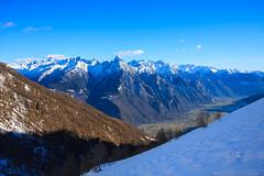 La Vista sulla Valchiavenna (Roveclimb) Tags: trekking hut alm refuge rifugio prata pizzo chiavenna valchiavenna escursionismo codera gordona voga forcola manduino menarola