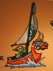 Link - Windwaker (Kallid00) Tags: sprite link bead zelda hama perler windwaker nabbi beadsprite